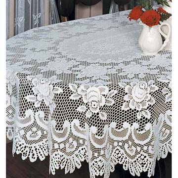 Image result for lace tablecloth