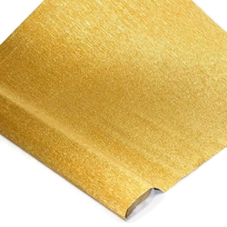 Italian Crepe Paper - VENETIAN GOLD METALLIC