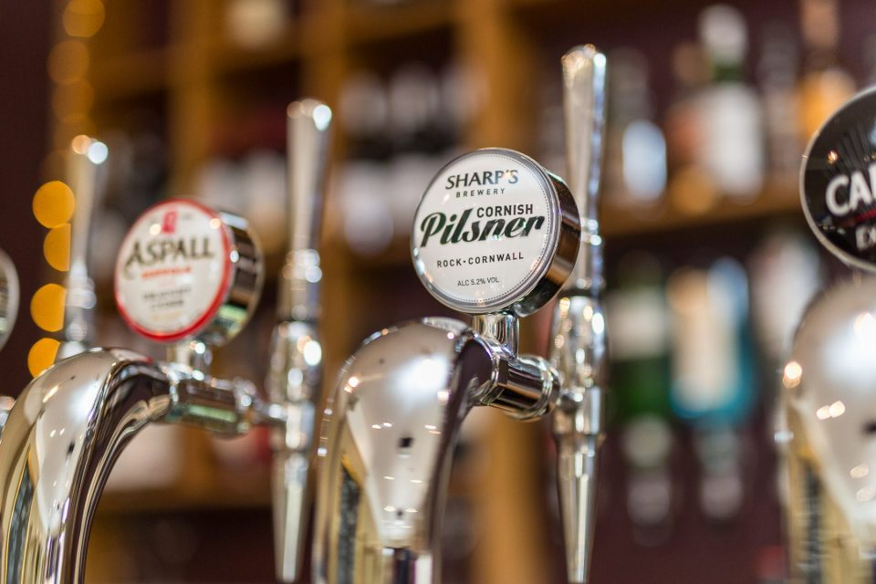The Mulberry Tree has wide range of ciders, lagers and beers
