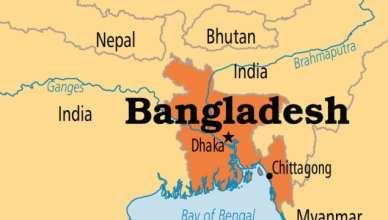 india-bangladesh-bhutan map