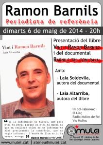 Ramon Barnils, periodista de referència
