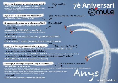 7è Aniversari