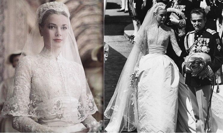 Vestido de noiva de Grace Kelly