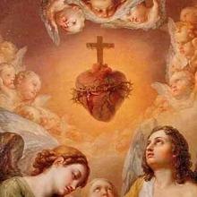 Coração de Jesus com espinhos