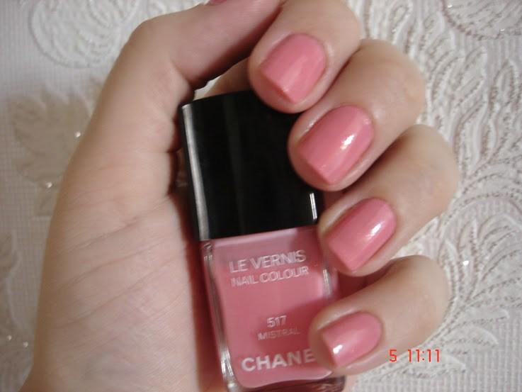 Chanel Mistral – esmalte rosa swatch