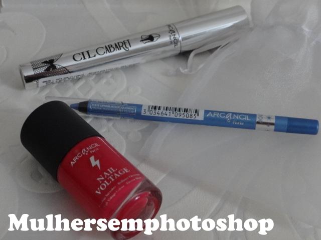 Arcancil maquiagens e esmalte