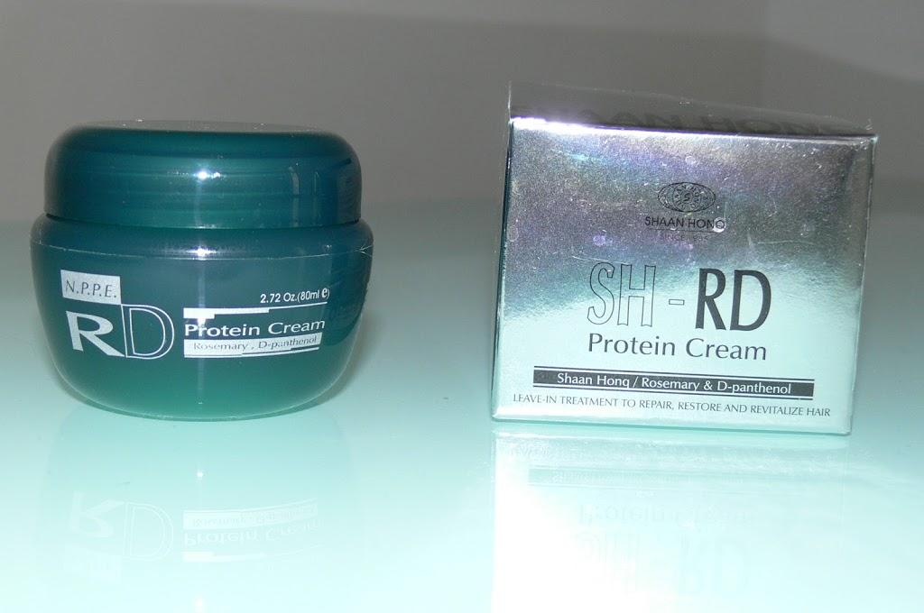 SH RD Protein Cream NPPE - resenha - finalizador para cabelo