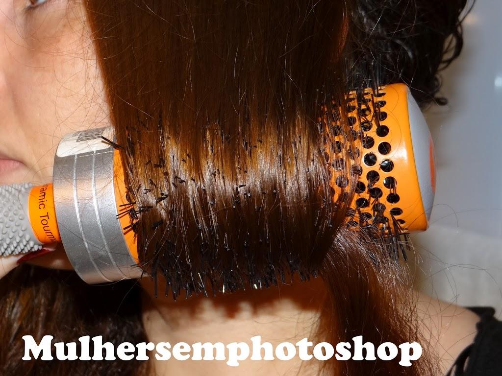 Escova de cerâmica da Fudge - escova de cabelo importada