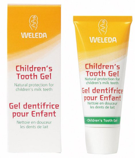 Gel dental infantil  Weleda