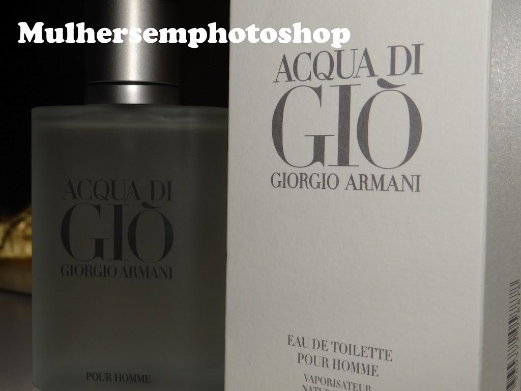 Acqua Di Gio Pour Homme - Eau de Toilette resenha perfume masculino