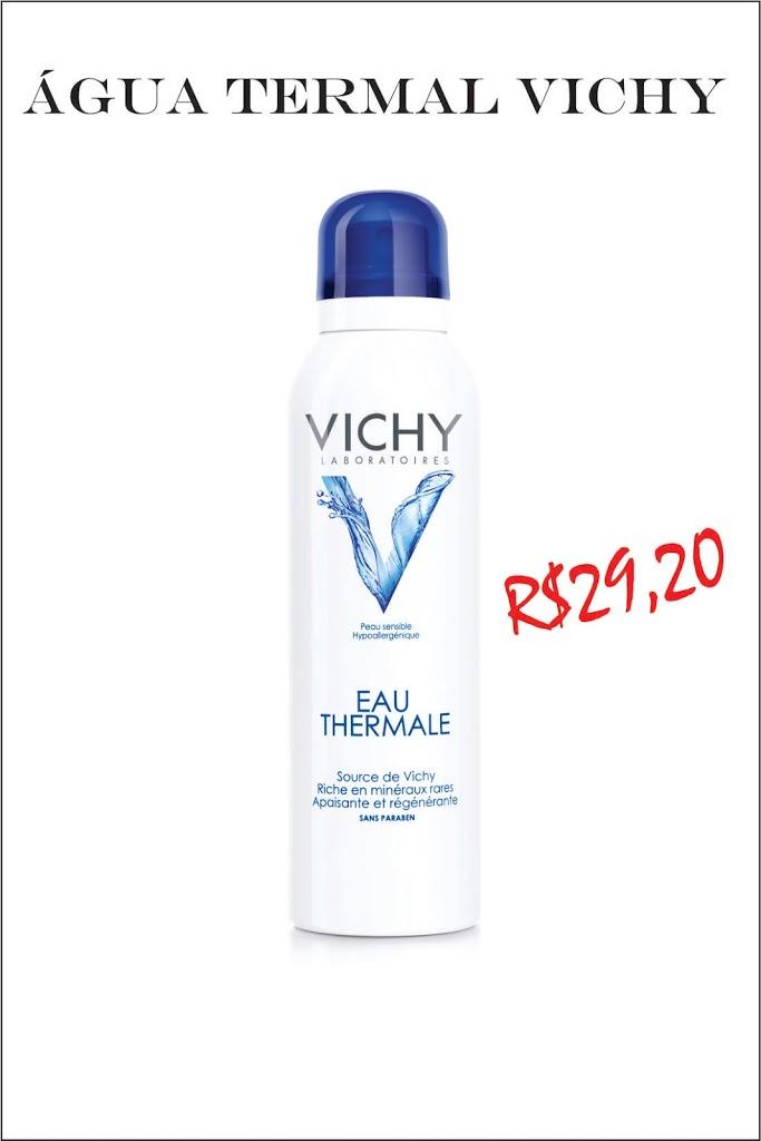 água termal Vichy comparação com La Roche