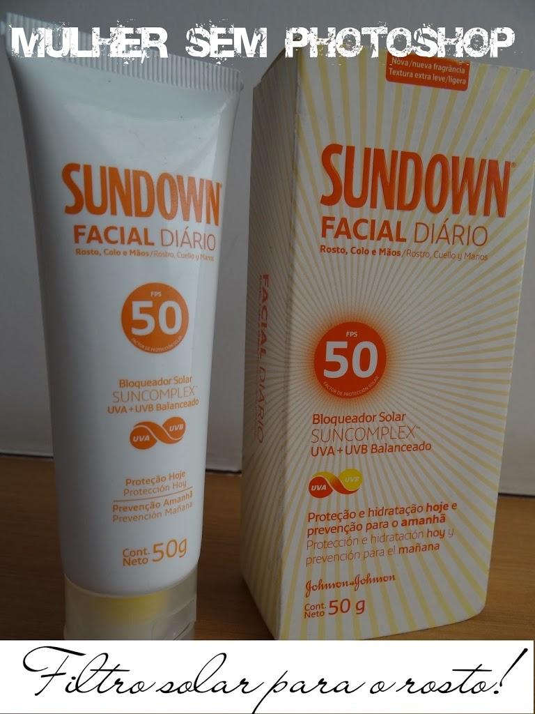 Sundown Facial Diário Toque Seco protetor solar para o rosto resenha