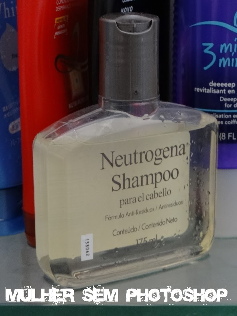 Shampoo antirresiduo Neutrogena