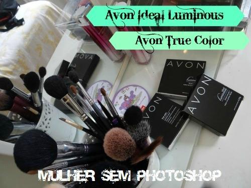 Avon True Color resenha paleta de sombras