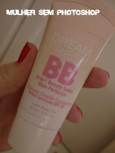 Comparação BB Cream Maybelline: americano x europeu (francês)