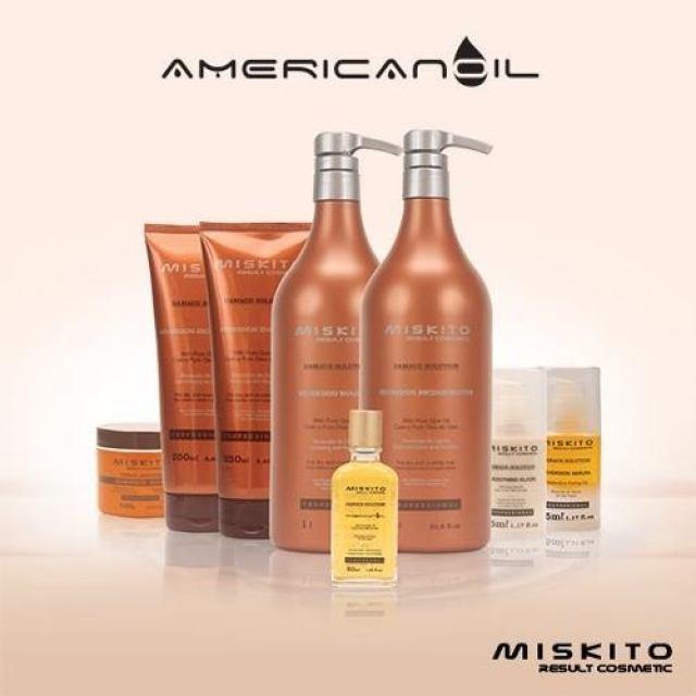 Promoção de produtos da Miskito Damage Solution