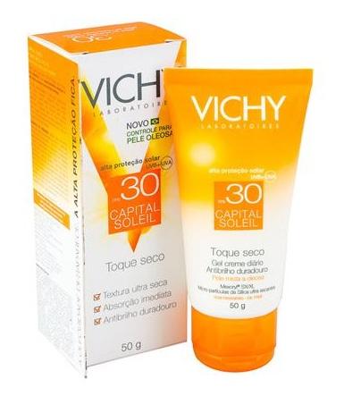 Promoção da Vichy Capital Soleil Toque Seco – Money Back