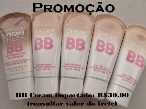 Promoção do BB Cream Maybelline!