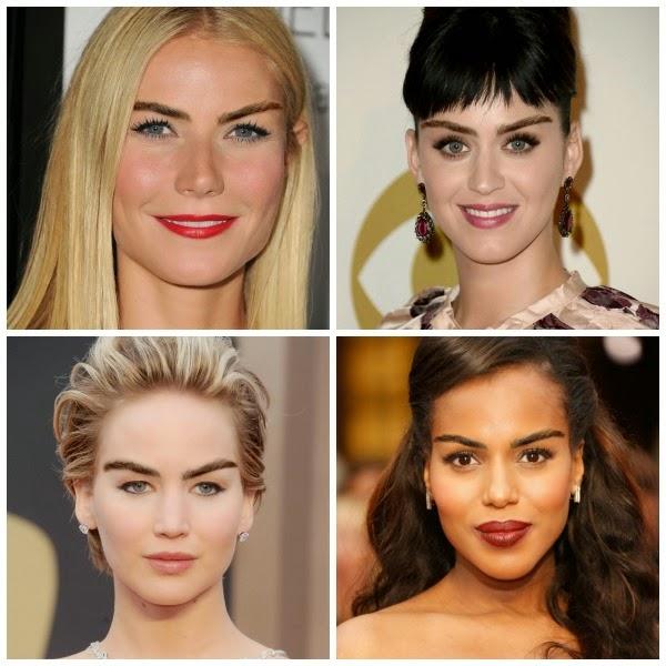 11 celebridades com a sobrancelha da Cara Delevigne