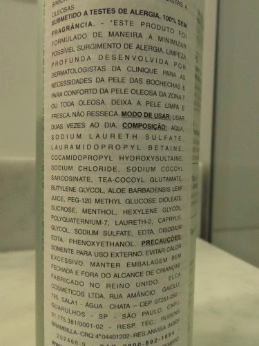 Clinique Liquid Facial Soap Mild resenha