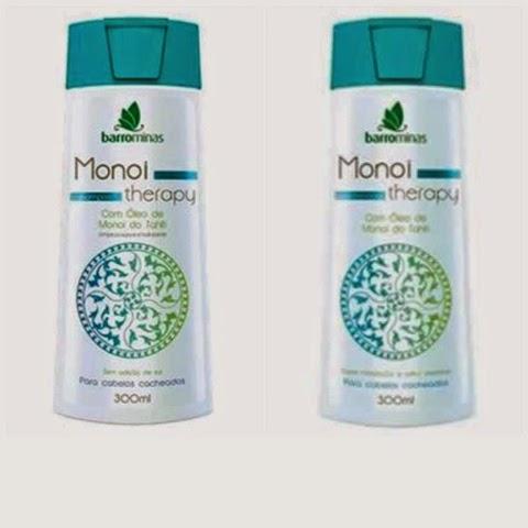 Shampoo e Condicionador Monoi Therapy da Barrominas