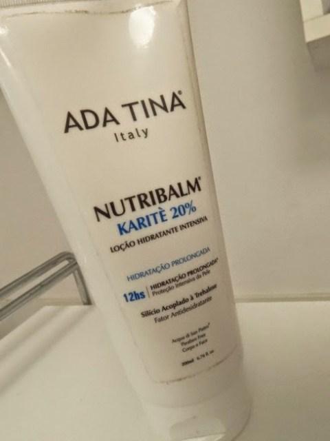 Hidratante corporal Ada Tina Nutribalm Karite