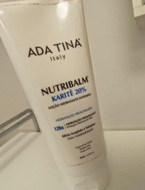 Hidratante corporal Ada Tina Nutribalm Karitè