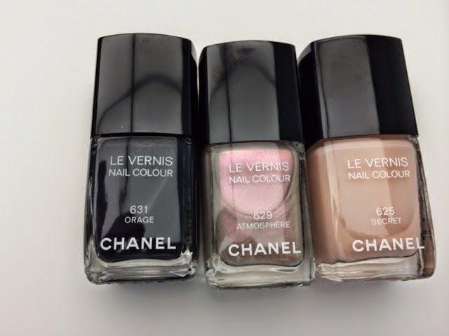 Esmaltes Chanel Inverno 2014: Orage, Atmosphere e Secret