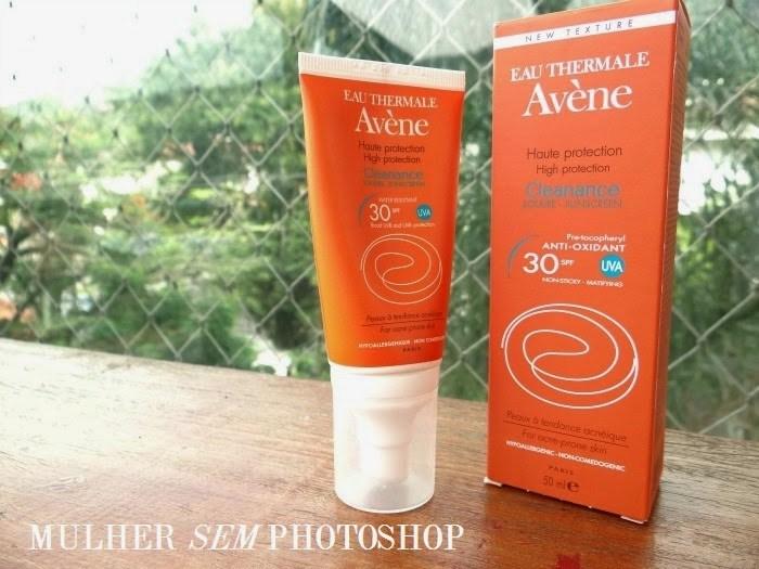 Avene Cleanance Solar - resenha protetor solar pele com acne