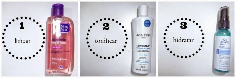 qual a ordem dos cosméticos na pele