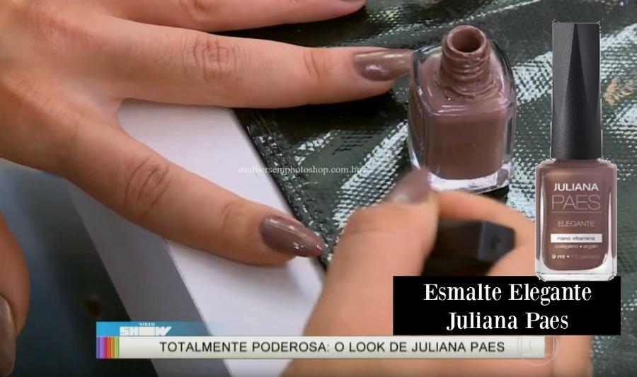 Esmalte nude marrom Carolina totalmente demais - Video Show