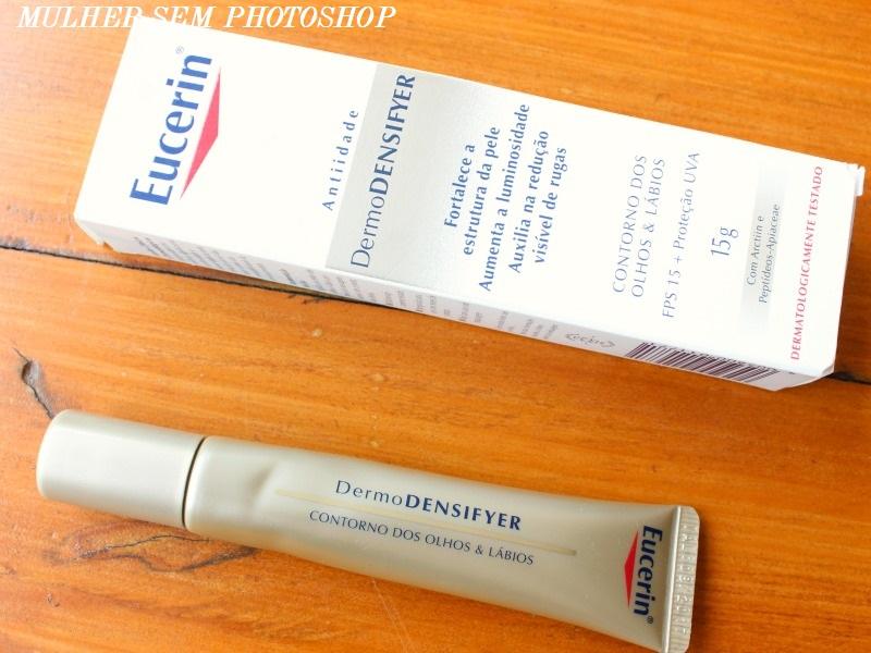 Eucerin DermoDensifyer Contorno dos Olhos e Lábios