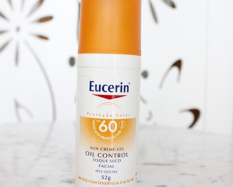 Eucerin Sun Creme-Gel Oil Control Protetor solar – resenha em pele oleosa