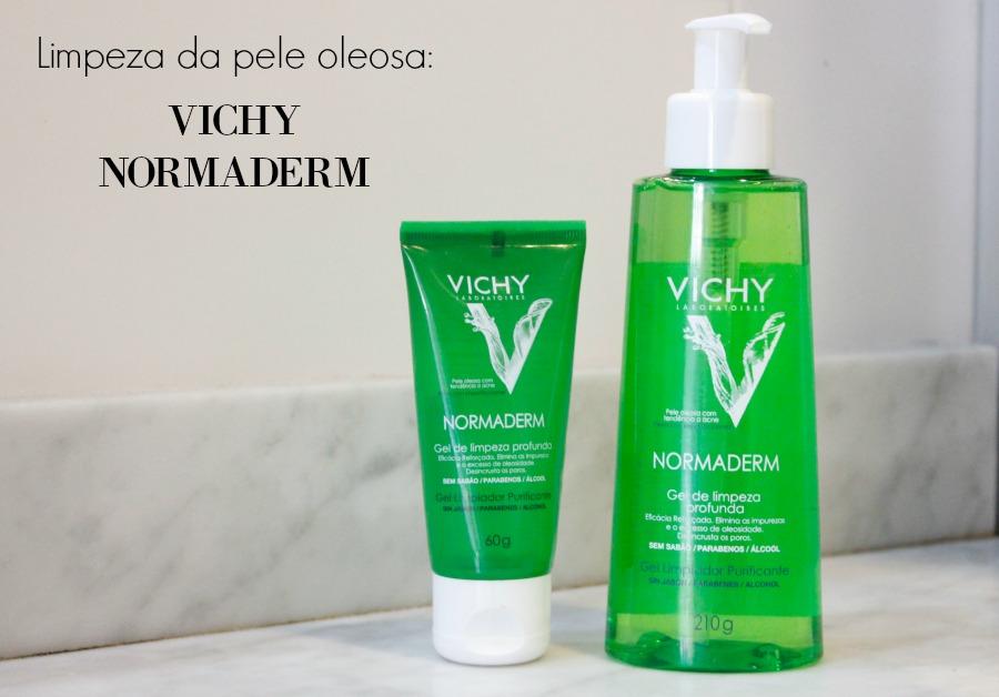 Gel de limpeza Normaderm da Vichy