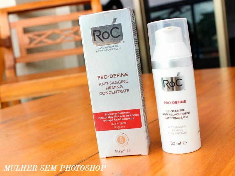 Roc Pro Define Concentrado – creme para pele madura da Roc – resenha