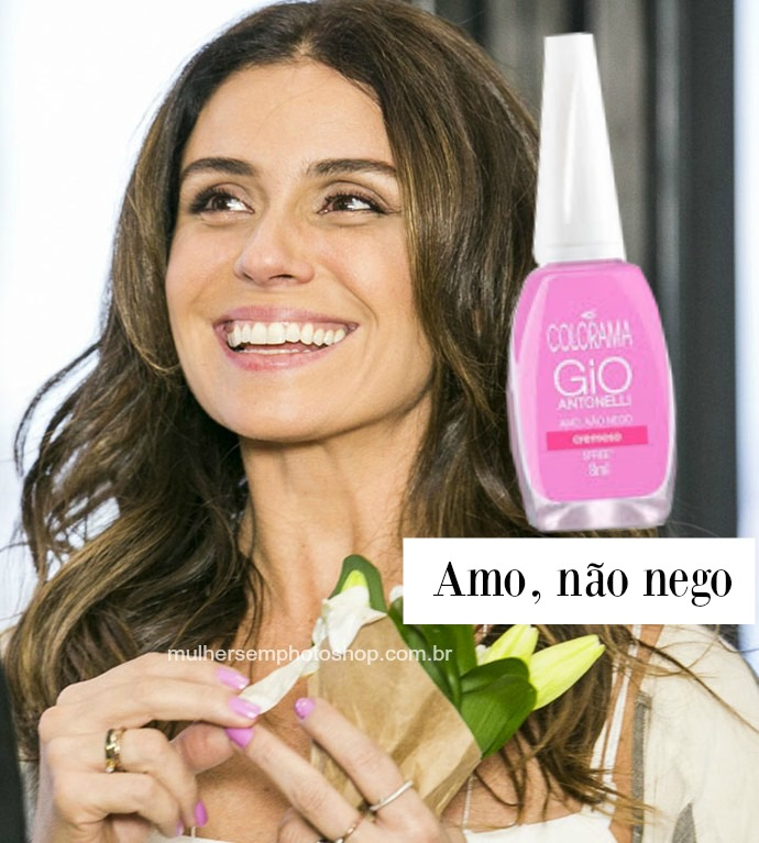 Esmalte Giovanna Antonelli - Alice - Sol Nascente