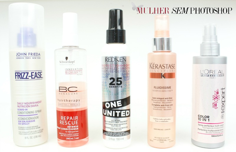 5 sprays para cabelo – video!