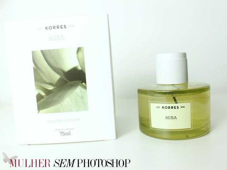 Mira Deo Parfum Korres – resenha