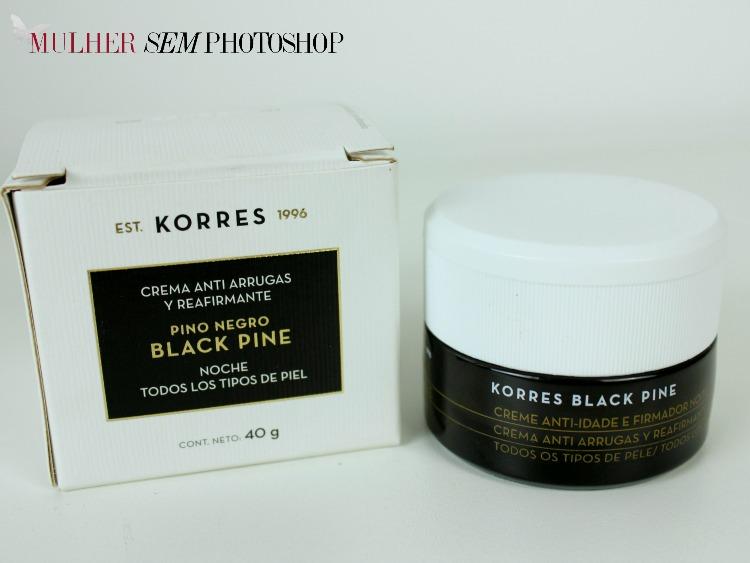 Black Pine Korres Resenha