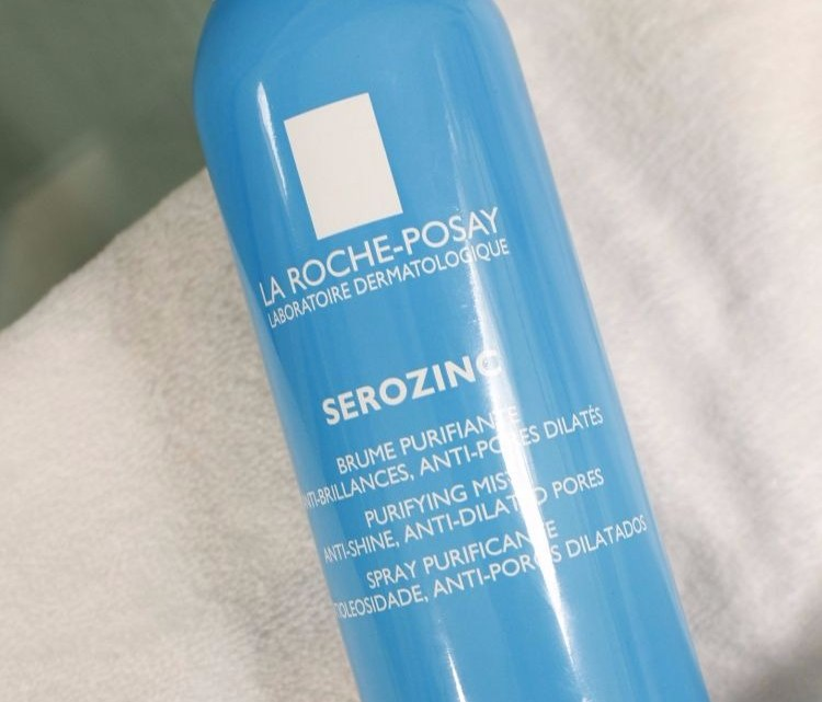 Resenha do Serozinc La Roche Posay para pele oleosa, acneica, rosácea