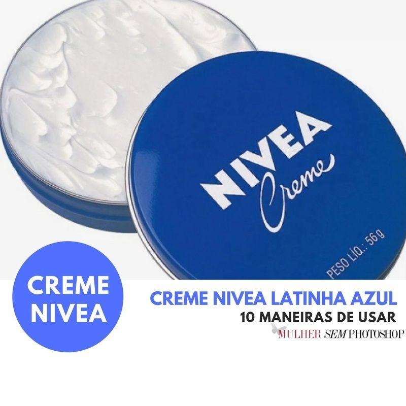 Creme Nivea Latinha Azul - um clássico!