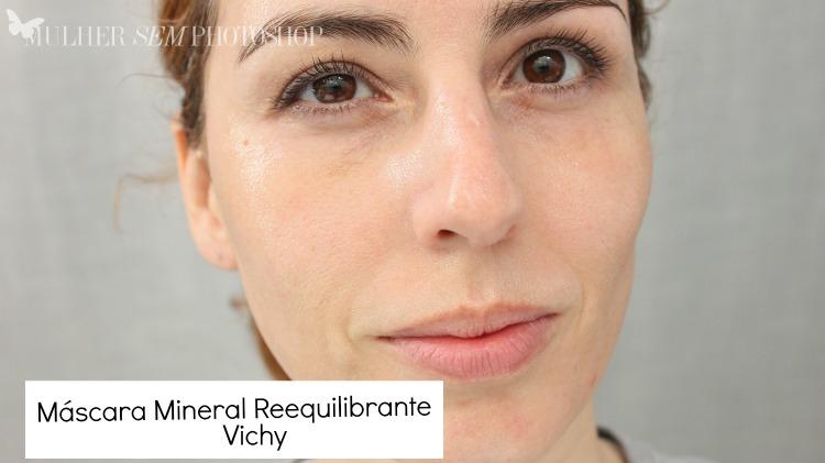 máscara mineral reequilibrante Vichy - resenha