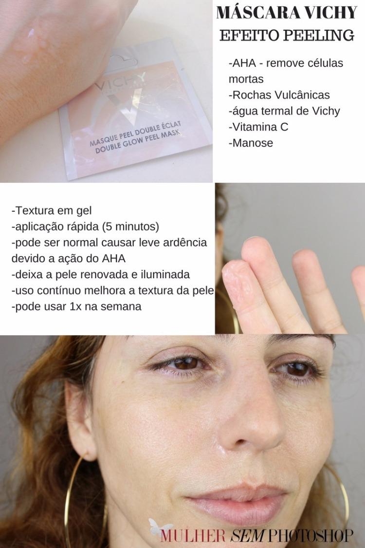 Máscara Vichy Efeito Peeling resenha