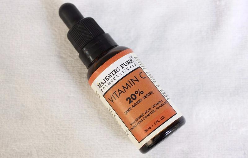 Vitamina C Majestic Pure - resenha