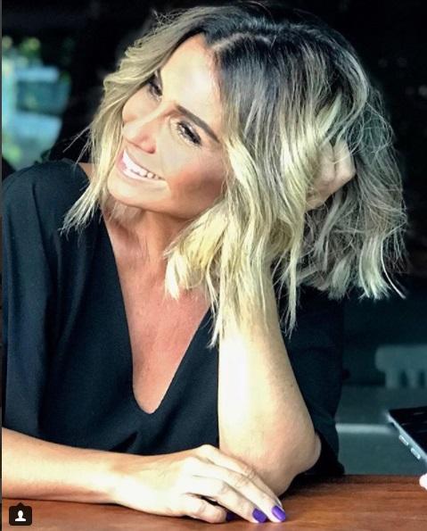 Cor cabelo Loiro Baunilha Giovanna Antonelli Segundo Sol - Luzia