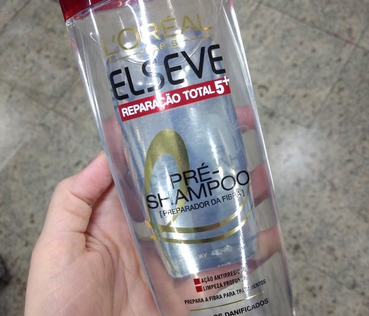 Pré Shampoo Elseve Reparação Total resenha