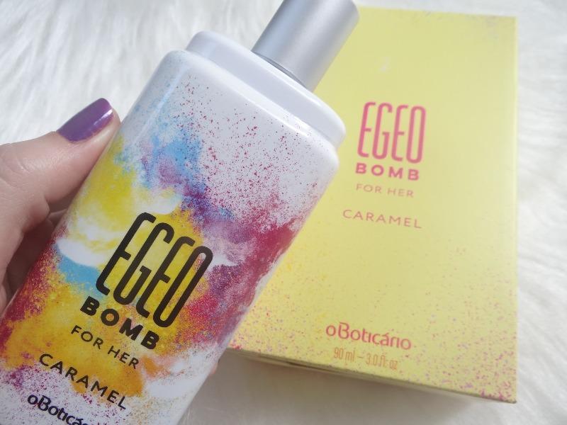 Egeo Bomb Caramel For Her resenha perfume Boticário