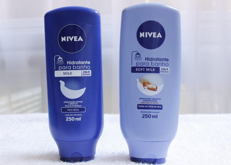 Hidratante de Banho Nivea Milk x Soft Milk resenha