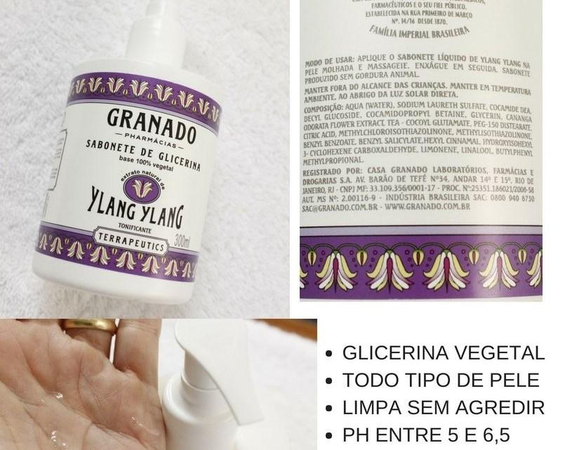 Sabonete de Glicerina Granado Líquido para rosto e corpo!
