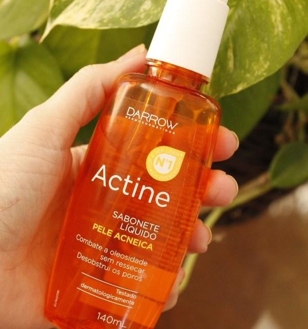Actine Sabonete Líquido Darrow – RESENHA de sabonete para pele oleosa